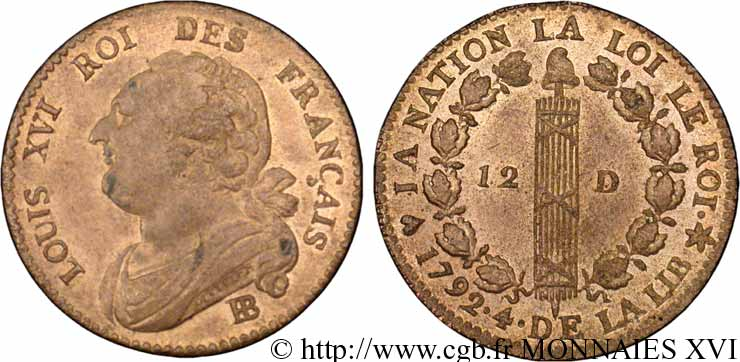 Monnaie louis xvi - Valeur ancienne piece ...